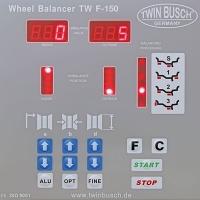 Equilibratrice semi-automatica - TW F-150